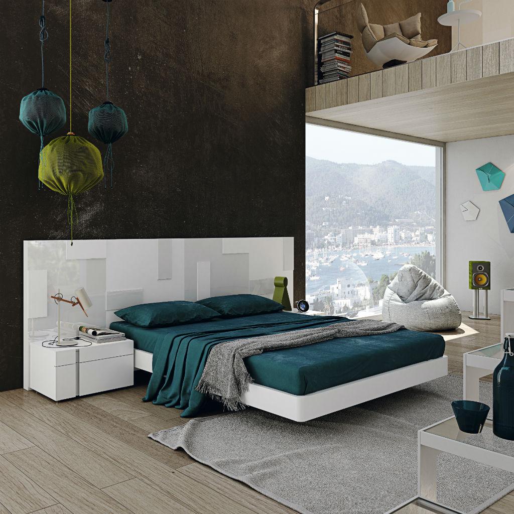 Dormitorios de matrimonio planeta del mueble - Dormitorios blancos ...
